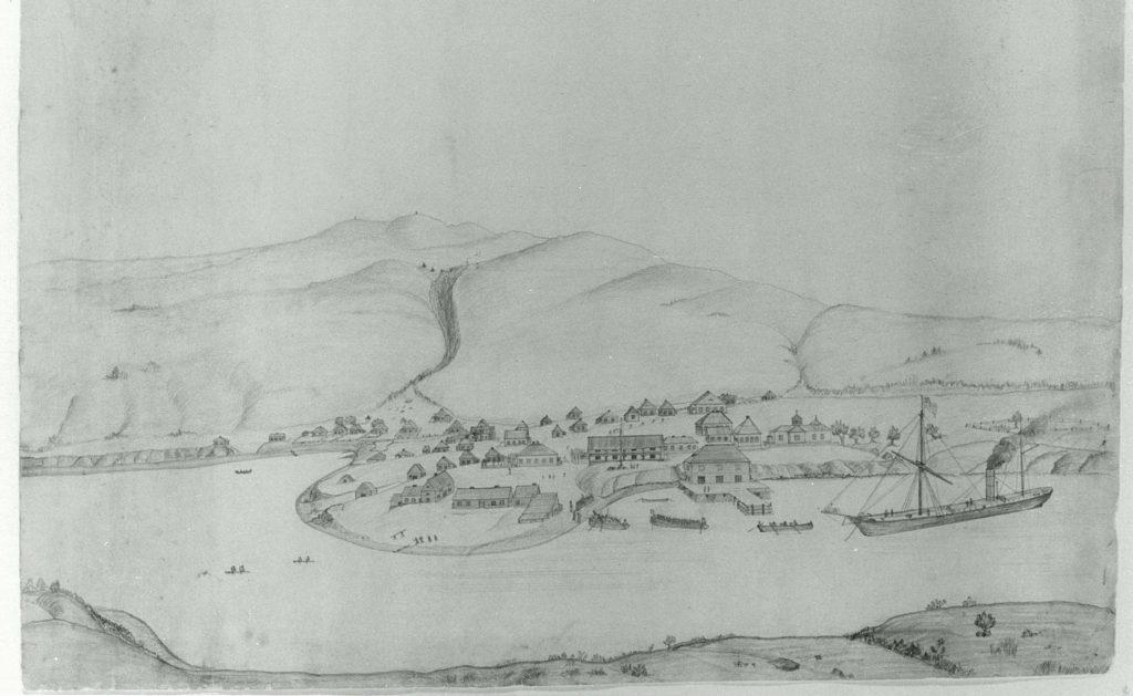 Kodiak illustration from 1868
